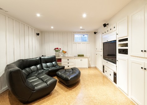 Finished Basement | Justin Schumaat Builders
